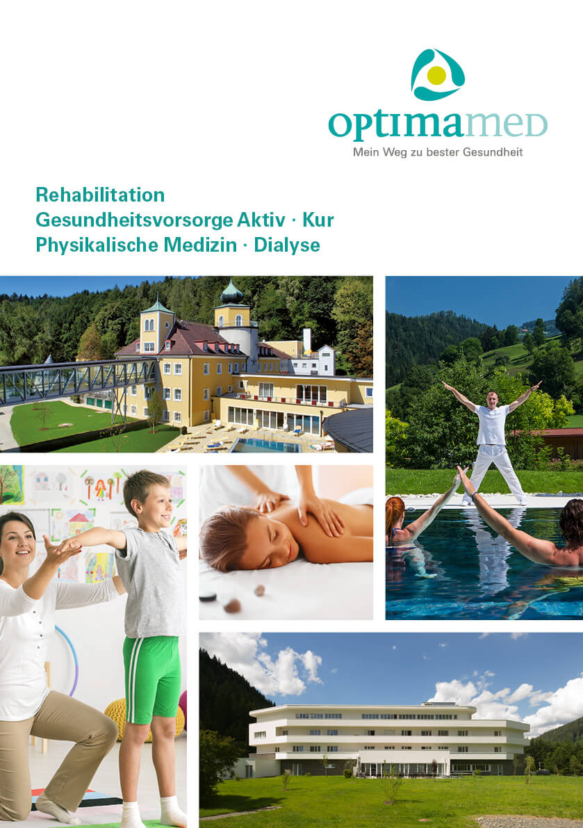 OptimaMed Infofolder Coverbild